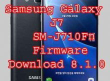Samsung Galaxy J7 2016 SM-J710Fn firmware Rom Flash File