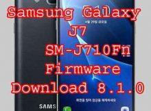 Samsung Galaxy J7 2016 SM-J710Fn firmware RomFlash File