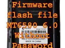 Peace PXP201 Firmware flash file MT6580 Without Password