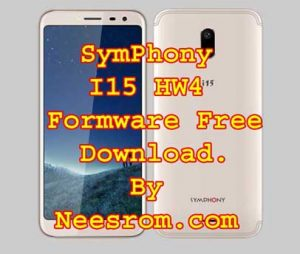 Symphony I15 Hw4 Firmware Flash File Free Without Password