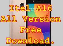 Itel A16 firmwareFlash File Without Password