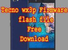 Tecno Wx3p Firmware Rom Flash File Download