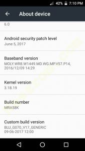 BLU Grand M G070 Firmware Flash File Custom rom Download