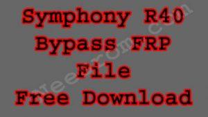 How To Symphony R40 FRP Bypass Reset File SPD 9 Free | Neesrom