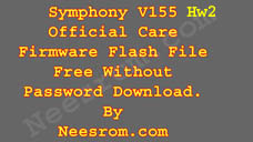 Symphony V155 Hw2 Firmware Flash File Without Password