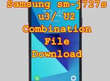 Samsung sm-j727s u3/ U2 FRP Combination File Download