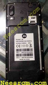 JIO J2 Firmware Flash File Without Password