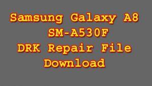 Samsung SM-A530F DRK Repair File Download