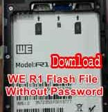 WE R1 Firmware Flash File Without Password