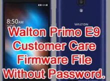 Walton Primo E9 Firmware Flash File Without Password