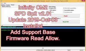 Infinity Cm2 SPD SP2 v2.01 Tool Download 2019
