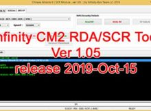 INFINITY BOX CM2 SCR/SPD/RDA v1.05 SETUP 2019-Oct-15