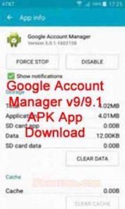 Google Account Manager Pie 9.0/9.1 APK