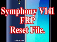 HOW TO RESET SYMPHONY V141 BYPASS FRP UNLOCK FILE
