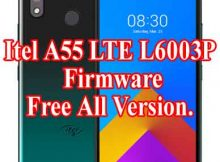 Itel A55 LTE L6003P Firmware All Version