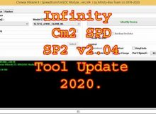 Infinity Cm2 SPD SP2 v2.04 Tool Update 2020