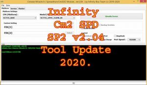 Infinity Cm2 SPD SP2 v2.04 Tool Update 2020