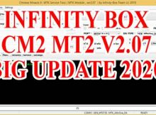 INFINITY BOX SETUP CM2 MT2 V2.07 BIG UPDATE 2020