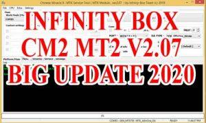 INFINITY BOX SETUP CM2 MT2 V2.07 BIG UPDATE 2020