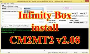 Infinity Box Setup CM2 MT2 V2.08 Last Update Version Tool 2020
