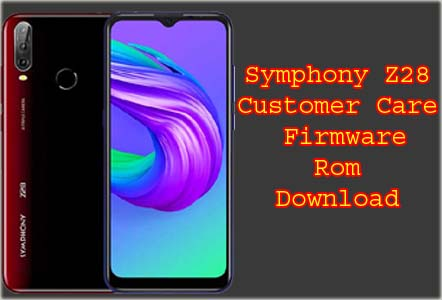 Symphony z28 Flash File Without Password